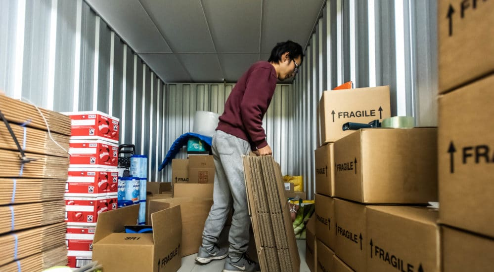 Container storage Manchester